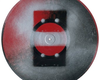 Double Cassette on wax - original painting
