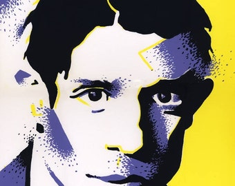 ON SALE! Young Picasso, screenprint