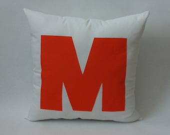 Big and Bold Personalized Initial Pillows