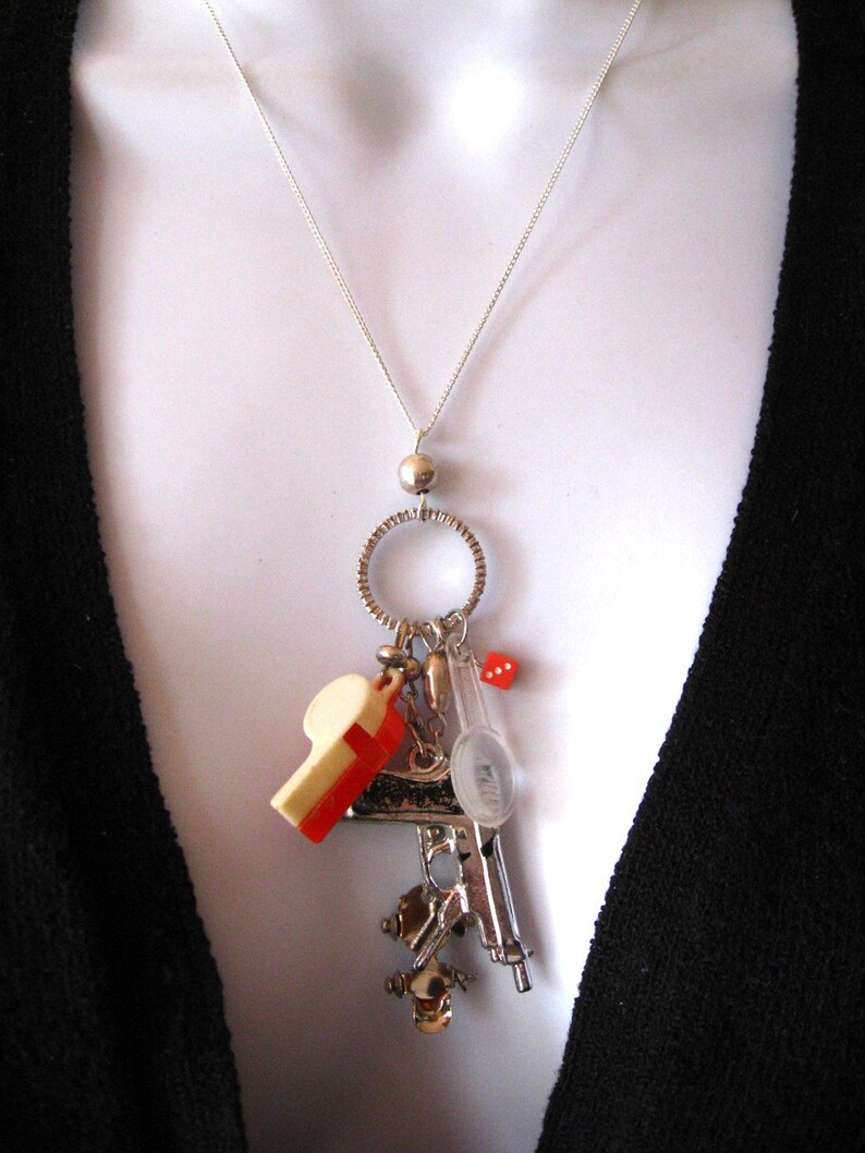 Toy Charm Necklace One of a Kind