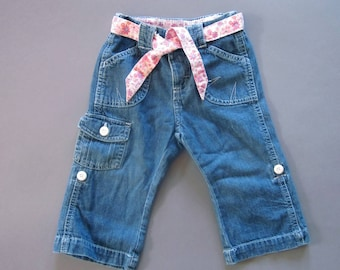 Child's Denim Jeans Size 18 mo. Baby Girl Jeans Pockets