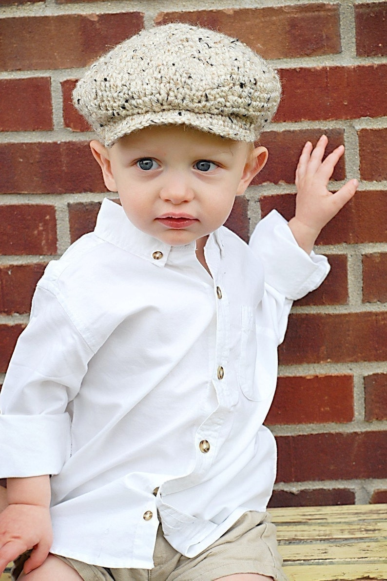 Scally Cap Crochet Hat Pattern Instant Download Permission  e0903666819f
