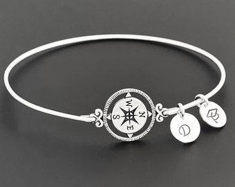 Compass Bracelet High School Graduation Gift Jewelry for Daughter Sister Her Best Friend from Mom Dad Grandma Teen Girl Teenage Grad Gift