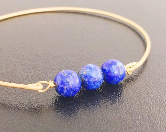 Lapis Lazuli Bead Bracelet Lapiz Lazuli Bracelet Lapiz Lazuli Jewelry Blue Bead Bracelet Lapis Bead Bracelet Blue Stone Bracelet Gift Women