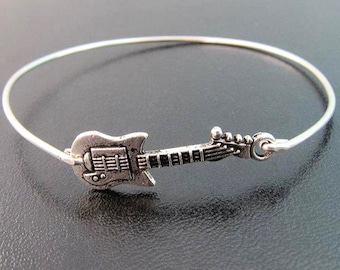 Guitar Bracelet for Women Guitar Jewelry Guitar Gift Idea for Her Guitarist Gift Guitar Player Christmas Guitar Lover Gift Guitar Teacher