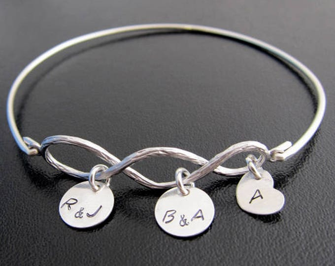 3 Generation Jewelry Three Generation Gift for Grandma Mother's Day Gift for Mother in Law Mothers Day Gift From Daughter and Granddaughter