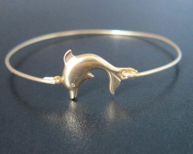 Dolphin Bracelet, Dolphin Jewelry, Sea Life Jewelry, Ocean Bracelet, Ocean Lover, Gift for Swimmer, Summer Fashion Accessory