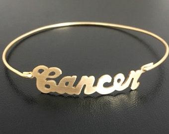 Cancer Zodiac Bracelet Cancer Jewelry Zodiac Gift Cancer Astrology Gift June Birthday Bracelet July Birthday Jewelry Horoscope Gift Women