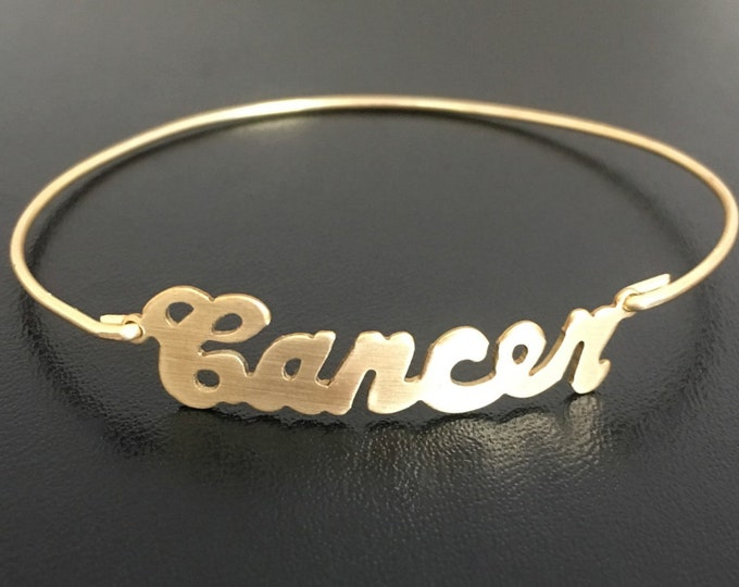 Cancer Zodiac Bracelet Cancer Jewelry Zodiac Gift Cancer Astrology Gift June Birthday Bracelet July Birthday Jewelry Horoscope Gift Women