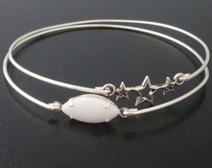 Shooting Star Bracelets Silver Tone for Women Astronomy Jewelry Star Jewelry Space Gift Astronomy Lover Gift Space Jewelry Space Bracelets