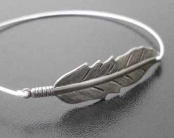 Boho Jewelry, Feather Bracelet, Hippie Jewelry, Feather Jewelry, Boho Wedding Jewelry, Boho Bridesmaid Gift, Nature Wedding, Nature Jewelry
