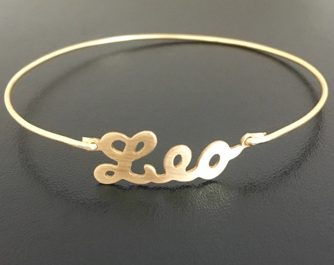 Leo Bracelet for Women Leo Gift Leo Jewelry Leo Zodiac Bracelet Leo Zodiac Gift Leo Zodiac Jewelry Leo Astrology Gift Sign Leo Birthday Gift