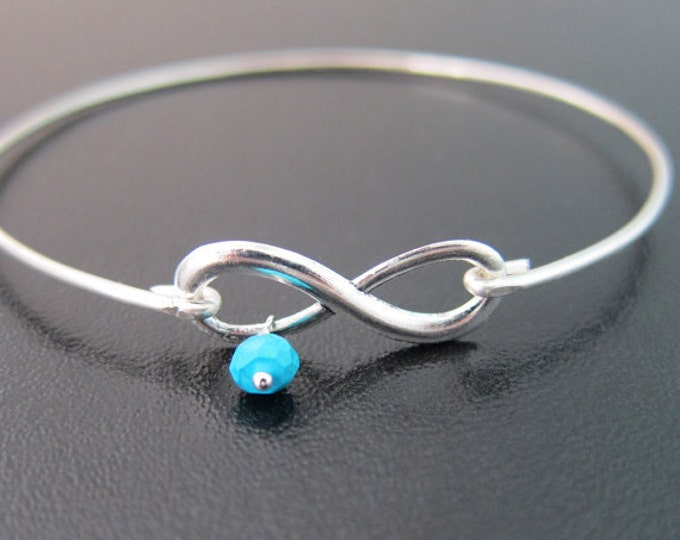 Birthstone Bracelet, New Mom Jewelry, First Mother's Day, Birthstone Jewelry, New Mom Bracelet, Infinity Charm Bracelet