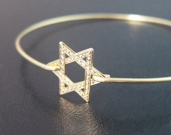 Star of David Bracelet Star of David Jewelry Jewish Star Bracelet Bat Mitzvah Gift Bat Mitzvah Jewelry Bat Mitzvah Bracelet Israeli Jewelry