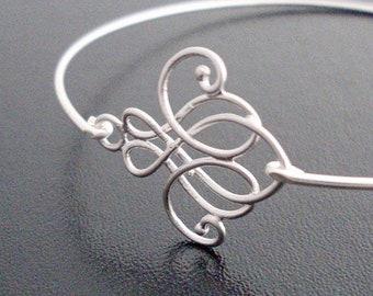 Swirl Bracelet Swirl Jewelry Skinny Bracelet Skinny Bangle Bracelet for Women Skinny Jewelry Thin Bangle Bracelet Thin Bracelet Thin Jewelry