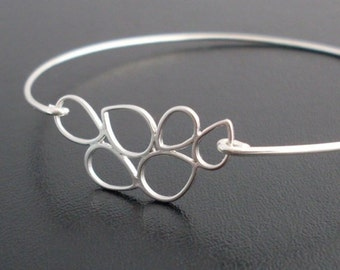 Silver Bubble Bracelet, Lenina, Bubble Jewelry, Bubble Bangle, Silver Stacking Bangle Bracelet, Affordable Bracelet, Affordable Jewelry