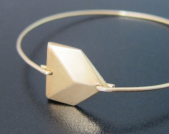 Chevron Bracelet, Geometric Jewelry, Minimalist Jewelry, Geometric Bracelet, 3D Jewelry, Chevron Jewelry, Art Deco Bracelet, Jewlery