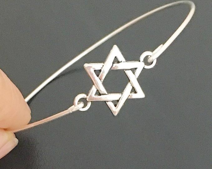 Star of David Bracelet Star of David Jewelry Jewish Star Bracelet Hanukah Gift Hanukah Jewelry Hanukah Bracelet Israeli Jewelry