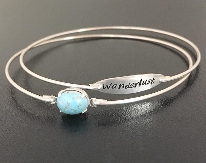 Wanderlust Bracelet Set Wanderlust Jewelry Gift World Traveler Gift for Women Traveler Bracelet Gift for Traveler Jewelry Travel Lover Gift