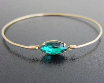 Green Rhinestone Bracelet, Green Bridesmaid Bracelet, Green Wedding Jewelry, Green Bracelet