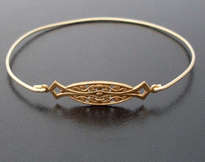 Symmetry Bangle Alyanina, Brass Bangle Bracelet, Brass Bracelet, Symmetry Bracelet, Symmetry Jewelry, Symmetrical Jewelry, Brass Jewelry