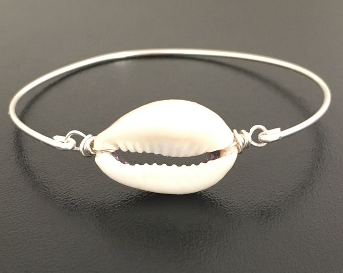 Cowrie Shell Bracelet Cowrie Shell Jewelry Hawaiian Shell Bangle Hawaii Shell Bracelet Cowrie Bracelet Cowrie Jewelry Hawaiian Shell Jewelry
