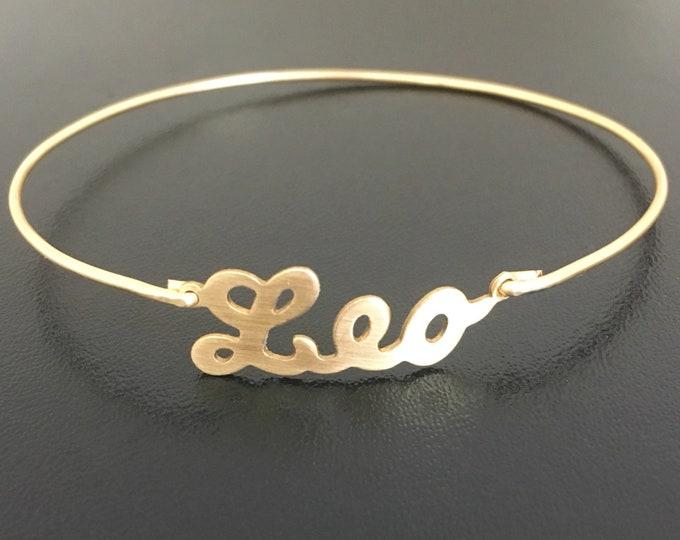 Leo Bracelet for Women Leo Gift Leo Jewelry Sign Leo Zodiac Bracelet Leo Zodiac Gift Leo Zodiac Jewelry Leo Astrology Gift Leo Birthday Gift