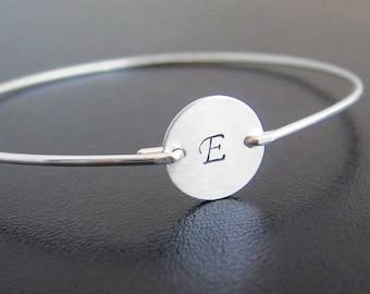 teen girl gift idea christmas gift teenage girl jewelry teen girl sterling initial bracelet teenage girl gift for teen daughter or sister