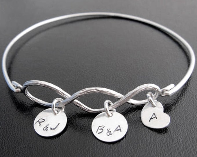 3 Generation Jewelry Three Generation Gift Grandma Bracelet Personalize Christmas Gift for Grandma from Baby Granddaughter Grandma Gift Idea