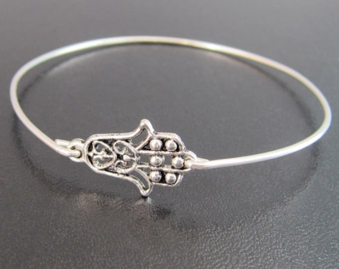 Hamsa Hand Bracelet, Hamsa Hand Jewelry, Silver Hamsa Bracelet, Hamsa Bangle, Silver Hand Bracelet, Hamsa Jewelry, Hamsa Silver Bracelet