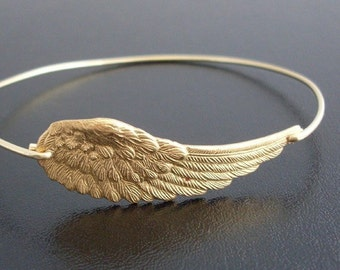 Angel Wing Bracelet for Women Angel Wing Jewelry Spiritual Bracelet for Her Spiritual Jewelry for Mom Birthday Gift from Son Daughter Kids