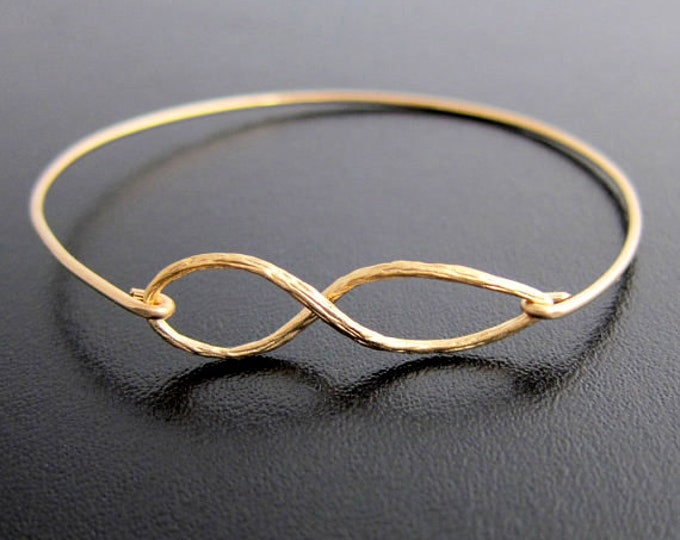 Infinity Bracelet for Women Infinity Symbol Bracelet Infinity Sign Bracelet Infinity Bangle Bracelet Gift for Bridesmaid Bangle Bracelet
