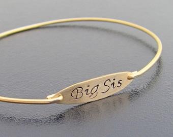 Big Sister Gift, Big Sister Bracelet, Big Sister Jewelry, Birthday Gift for Big Sister, Big Sis Bracelet, Big Sis Gift, Big Sis Jewelry