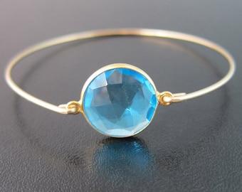 Blue Apatite Bracelet, Blue Apatite Jewelry, Blue Stone Bracelet for Women, Blue Gemstone Bracelet, Ocean Blue Bracelet, Ocean Blue Jewelry