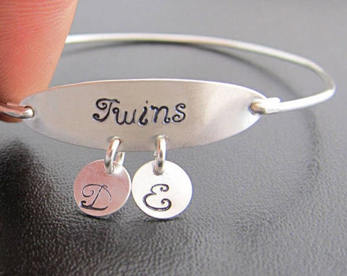 Twins Bracelet, Twins Jewelry, Twins Gift for Twin Girls, Twin Sister Bracelet, Twin Sister Gift, Twin Sister Jewelry, Twin Girl Gifts