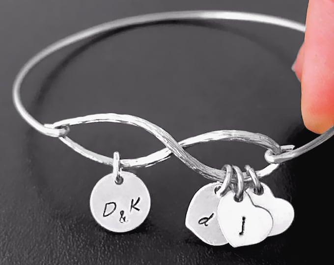 Personalized Mothers Day Bracelet Sentimental Jewelry Sentimental Bracelet Women Gift Idea Sentimental Gift Mom Sister Best Friend Daughter