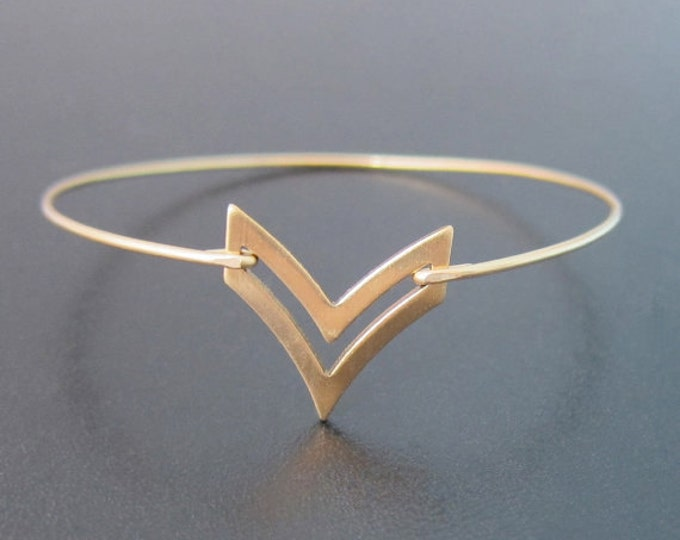 Gold Chevron Bracelet, Chevron Bangle, Heraldic Jewelry, Greek Jewelry, Greek Bracelet, Art Deco Jewelry, Chevron Bangle, Art Deco Bangle