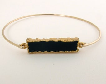 Black Onyx Bracelet for Women Black Onyx Jewelry Black Stone Bracelet Black Gemstone Bracelet Black Stone Jewelry Black Gemstone Jewelry