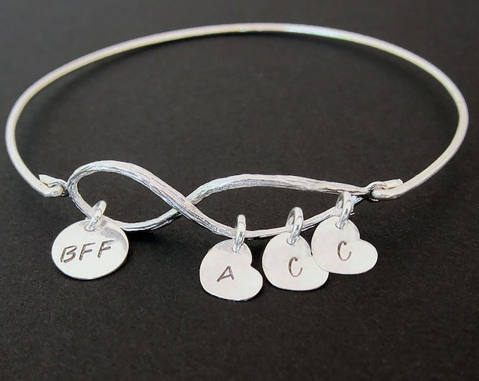 Bracelet for BFF Jewelry for BFF Gift for Christmas BFF Christmas Present Best Friend Gift Birthday Present Best Friend Bracelet Customized