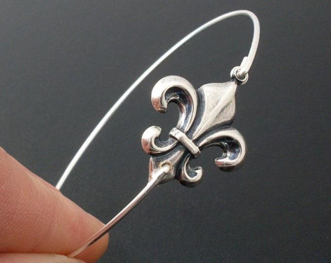 Fleur de Lis Bracelet Fleur de Lis Jewelry New Orleans Wedding Gift Bridesmaid Paris Jewelry Paris Bracelet French Jewelry French Bracelet