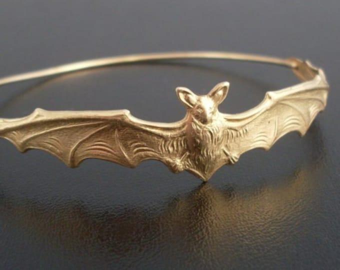 Bat Bracelet Bat Jewelry Halloween Jewelry Bracelet Halloween Gift Idea for Her Friends Bat Gift Bat Charm Bracelet Woman Halloween Bracelet