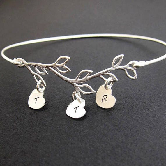 Family Bracelet Personalized Mother In Law Gift Mothers Day Gift