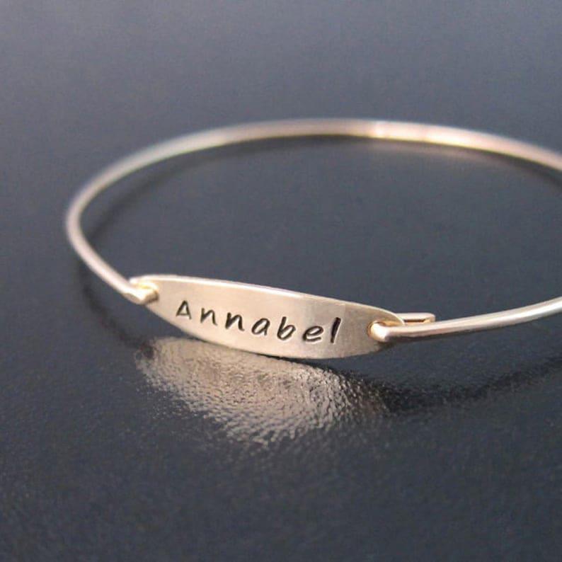 Name Bracelet for Women Custom Bracelet Personalize Name image 0
