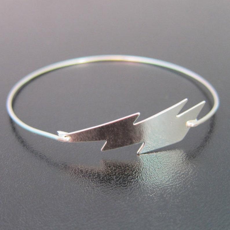 6375093cb Lightning Bolt Bracelet Lightning Bolt Jewelry Weather | Etsy