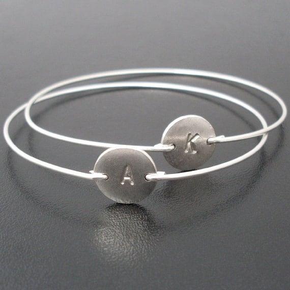 Silver Friendship Bracelets Etsy