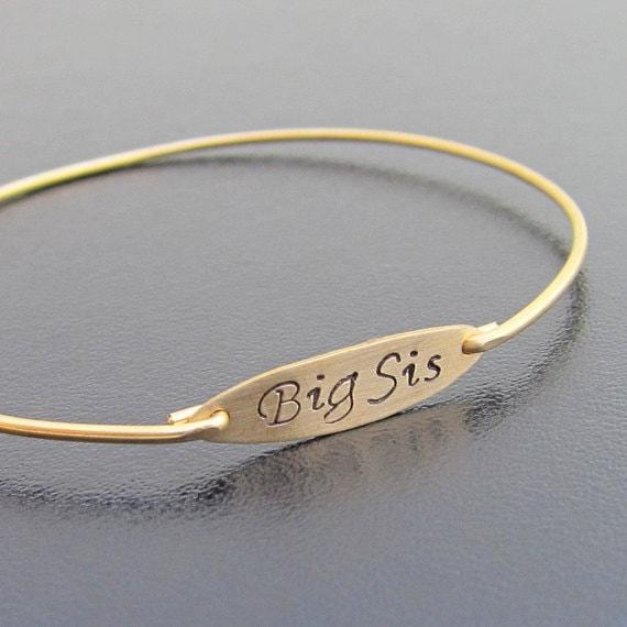 Big Sister Gift Bracelet Jewelry Birthday For Sis