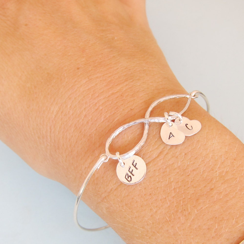 Long Distance Friendship Bracelet Bangle Gift Gallery Photo