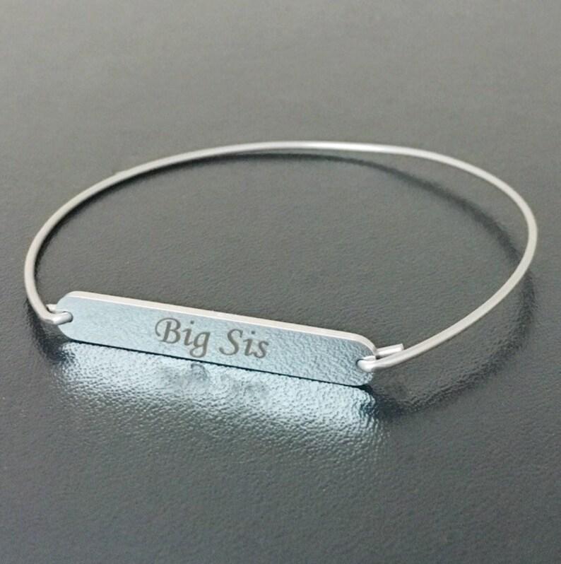 Big Sis Bracelet Big Sister Bracelet Big Sis Gift Birthday Gift for Big Sister Big Sis Jewelry Big Sister Gift Big Sister Jewelry