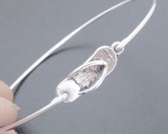 Mini Flip Flop Bracelet Flip flop Jewelry Beach Bracelet Beach Jewelry Ocean Jewelry Summer Bangle Bracelet Flipflop Jewelry Ocean Bracelet
