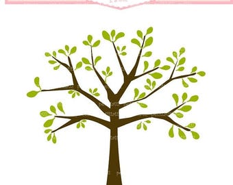 Trees Clip Art Etsy
